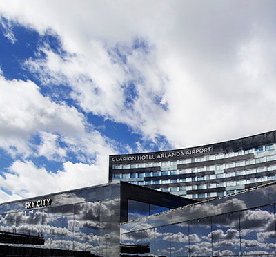 Clarion hotel arlanda airport for Hotels near arlanda airport