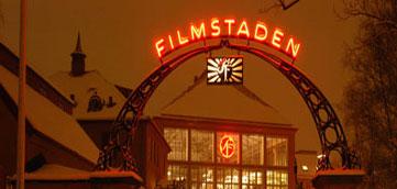 Konferens i filmmiljö