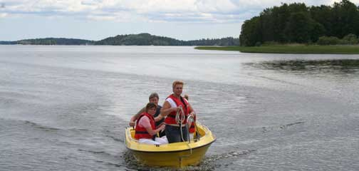Kundreferat - lyckade konferenser - båtorientering på Mälaren