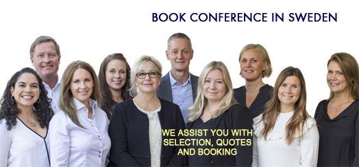 Boka konferens – Urval, Råd och Bokning