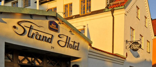 Konferens i Visby, Gotland - Best Western Strand Hotel